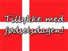 Dänische Geburtstsgswünsche