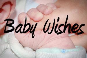 Baby Wünsche auf Englisch