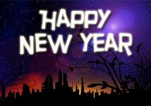 Englische Neujahrswünsche