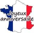Französische Geburtstagsglückwünsche