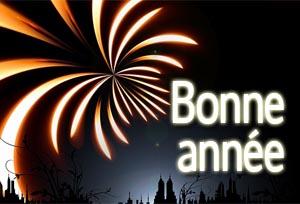 Französische Neujahrsgrüße