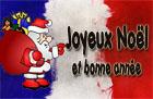 Französische Weihnachtswünsche
