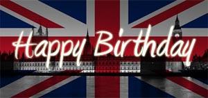 Glückwünsche Geburtstag Englisch