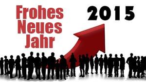 Neujahrswünsche für Kollegen