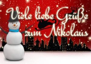 Nikolausgrüße für Kollegen