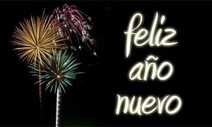Spanische Neujahrswünsche