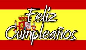 Spanische Geburtstagswünsche