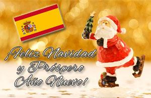 Spanische Weihnachtsgrüße