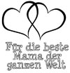 Malvorlage Beste Mama der Welt