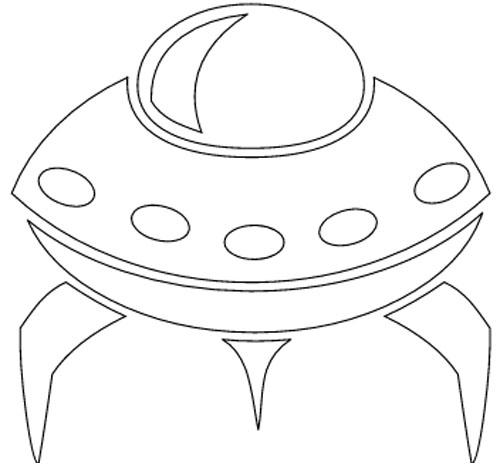 Ufo Malvorlage