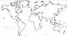 Weltkarte Malvorlage